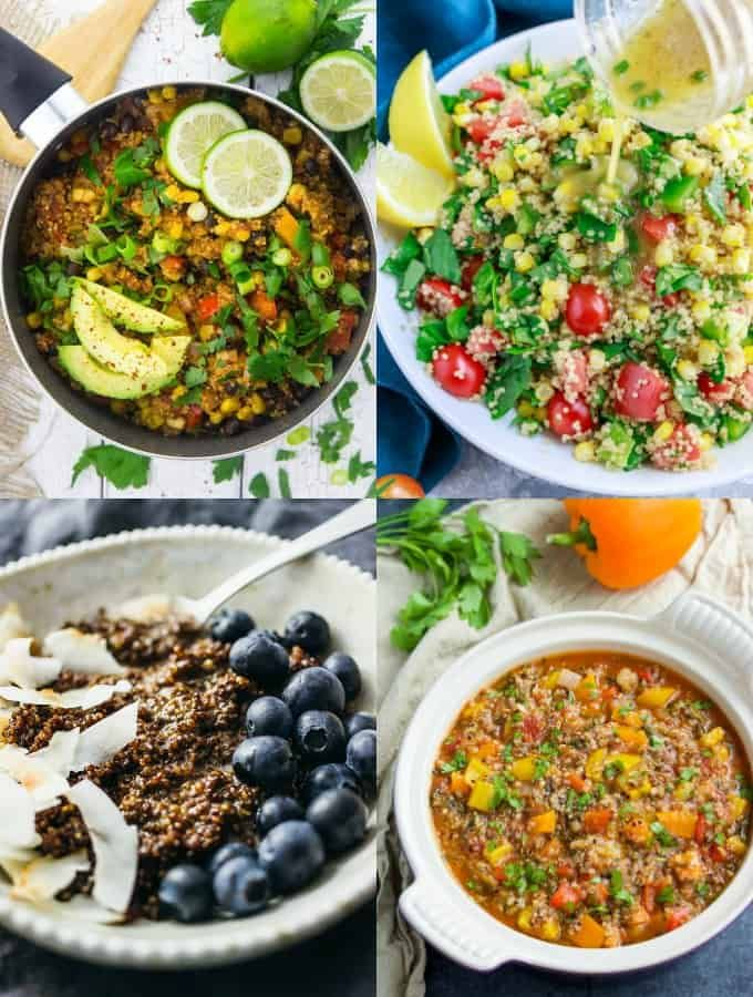 Do You Love Quinoa As Much As I Do We Make It At Least Two Or Three Times A Week And It Vegetarian Recipes Healthy Quinoa Recipes Dinner Vegan Quinoa Recipes