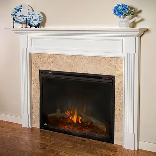 Cabinets And Fireplace Surrounds: Best 25+ Fireplace Mantel Surrounds Ideas On Pinterest