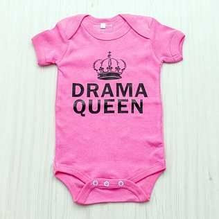 Drama Queen Baby Body Vest  www.soulnaturals.co.za