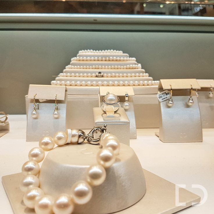 """  The Must Have Accessory   Are you looking for the perfect all-rounder accessory? A classic and timeless piece for the workday and party at night? Jackie Kennedy once said, """"Pearls are always appropriate"""". We have a stunning collection to choose from. #DuffsJewellers #Pearls"""