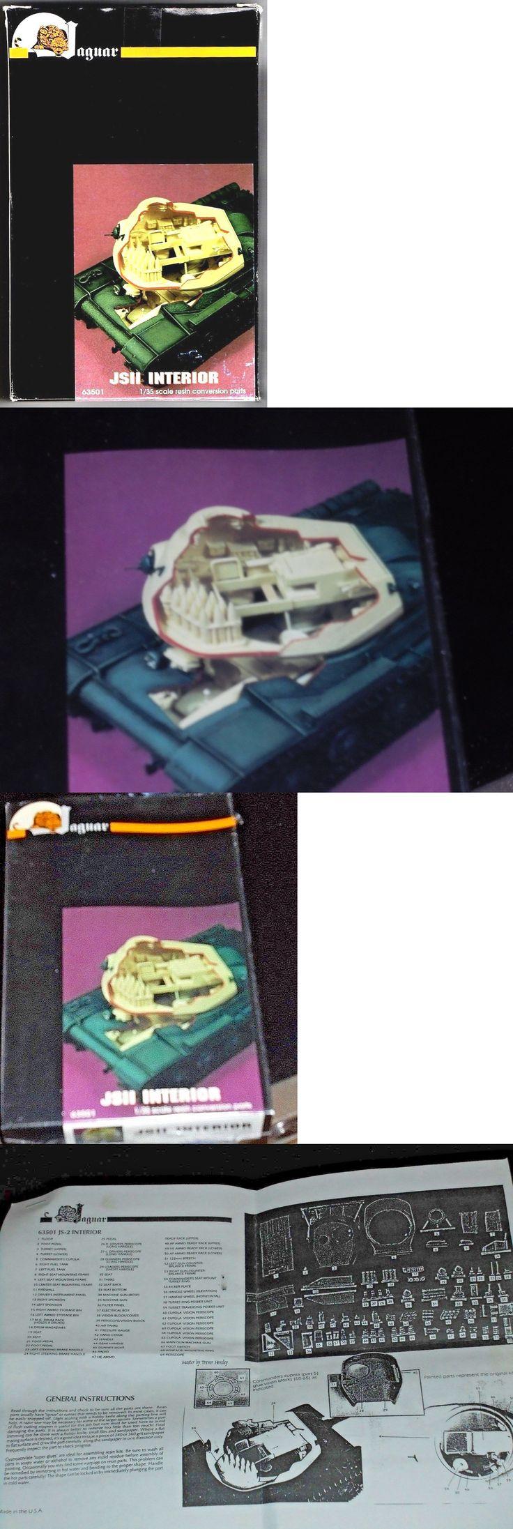 Pre-1970 734: Jaguar Models 63501 - Jsii Interior Conversion Set 1 35 Resin Kit -> BUY IT NOW ONLY: $43.95 on eBay!