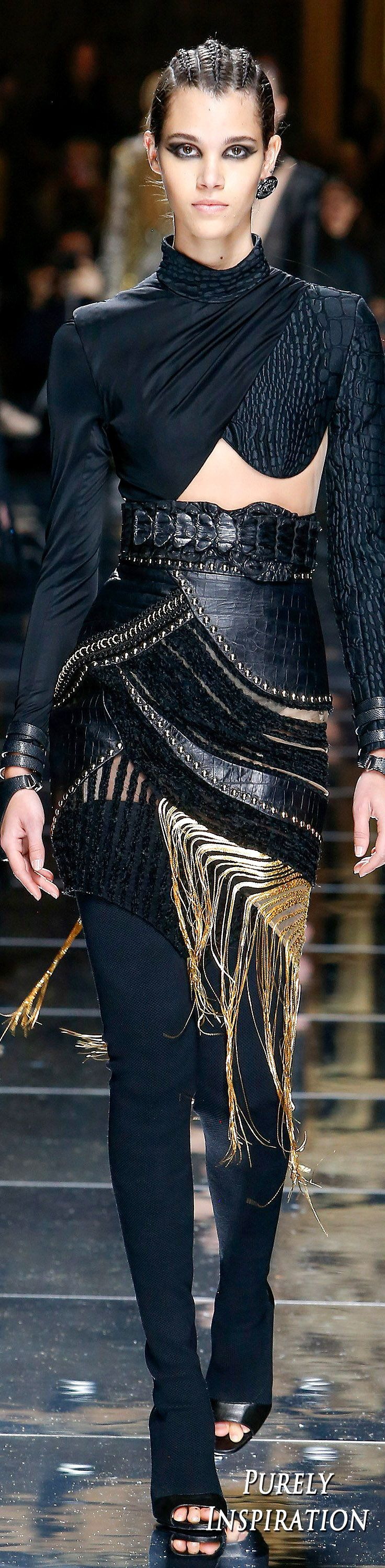 Balmain FW2017 Women's Fashion RTW | Purely Inspiration