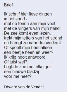 Edward van de Vendel - Brief (Uit: Superguppie)