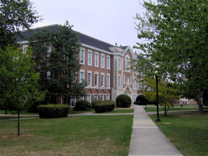 Henderson Hall in Cookeville:  It is located on the Tennessee Technological University campus in Cookeville.