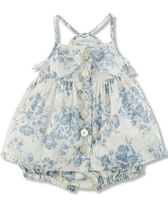 Ralph Lauren Baby Girls' 2-Piece Floral Top & Bloomer Set