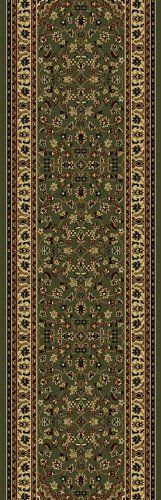 "Radici Castello 953 2'2"" x 7'7"" Sage Runner Area Rug by Radici. $50.99. Castello 953 sage rug by Radici Rugs is a machine made rug made from synthetic. It is a 2 x 8 area rug runner in shape. The manufacturer describes the rug as a sage 2'2"" x 7'7"" area rug. Buy discount rugs with Buy Area Rugs .com SKU 953-1215-sage