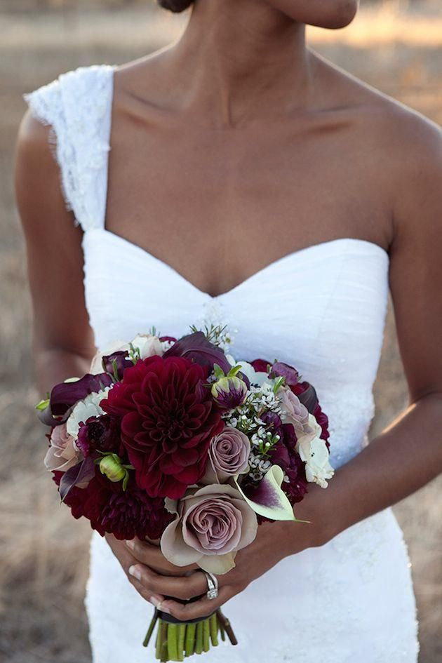 bridal bouquet idea; Erica B Photography via Bridal Musings
