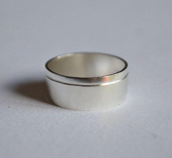 Anello uomo,fede uomo,anello unisex,fascia uomo,anello argento 925,anello fidanzamento,sposi,fatto a mano,gioiello italiano,made in Italy