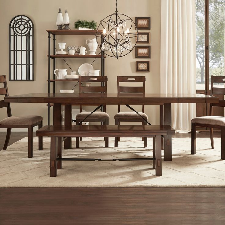 71 best new home penn manor at sandy run images on pinterest kitchen tables basements and - Elegant rustic dining table set to enhance your dining room ...