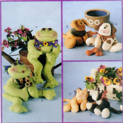 Bean Bag Toys Sewing Pattern McCalls 9114 by FindCraftyPatterns, $10.00