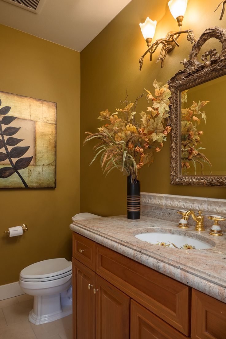 Luxurious Equestrian Estate For Sale is One of the Best - Elegant Powder Room