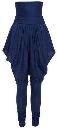 ShopStyle: Silk Jersey Harem Trousers