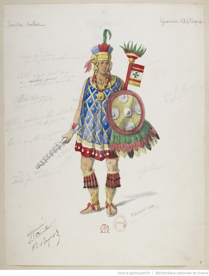 5. Guerrier aztèque;                                                                                                                                                                                 Plus