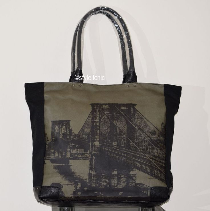 Ebay UK echodesigns cityscape medium tote bag London Eye ..