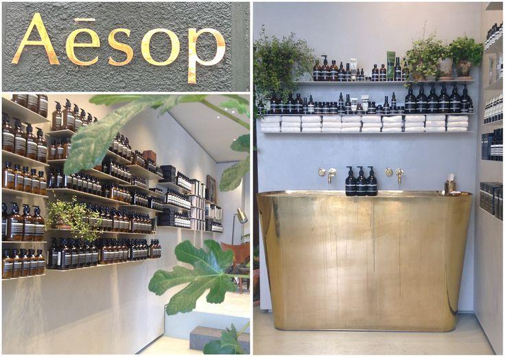 Aesop new store in Copenhagen 2016