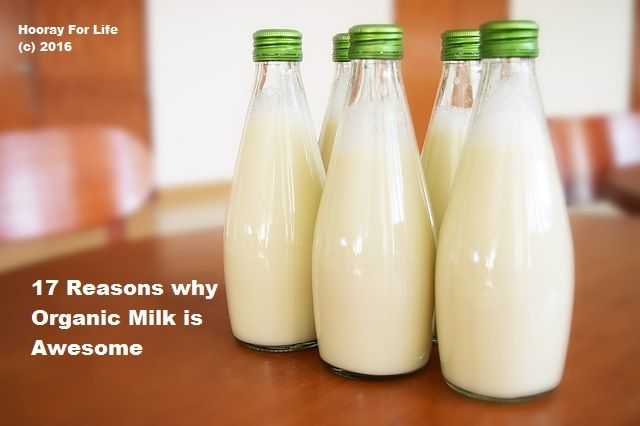17 Reasons why Organic Milk is Awesome