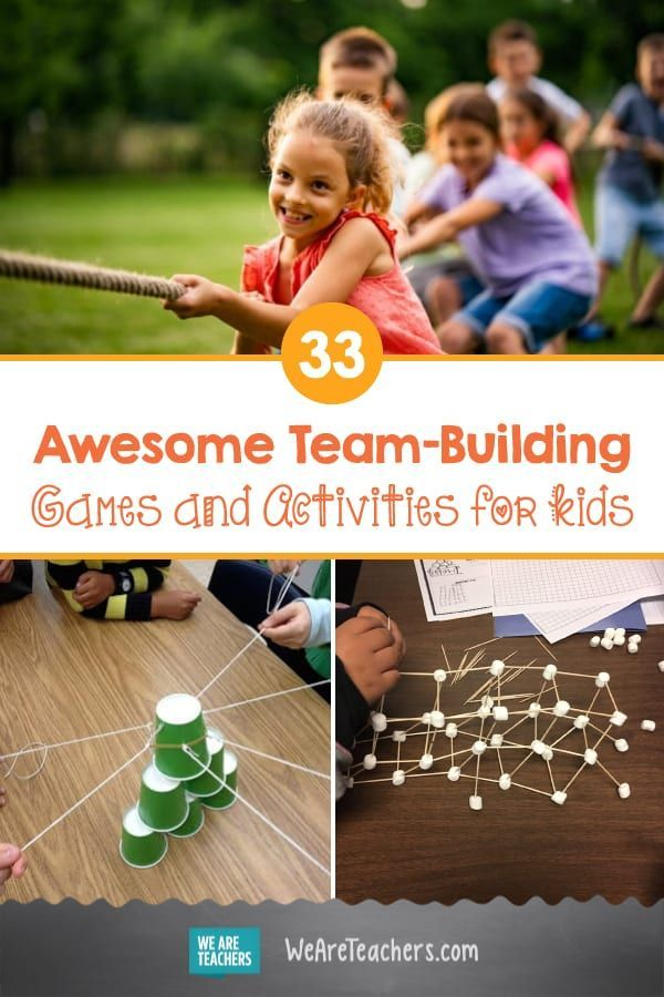 28 Awesome Team Building Games And Activities For Kids Kids Team Building Activities Teamwork Activities Team Building Games