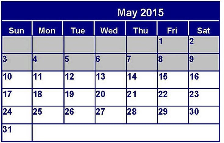 May 2015 Calendar With Holidays, Printable Pdf, Template, Excel, Doc. Download May 2015 Calendar Philippines, UK, USA, NZ, Canada and May Calendar 2015 Images.