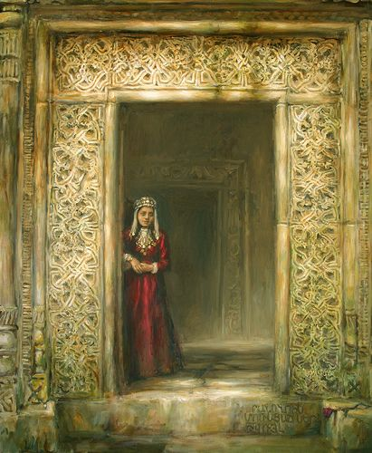 Hayastan (Kobayr) - Armenian painting: