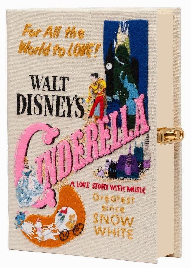 Olympia Le-Tan Disney Movie Book Clutches