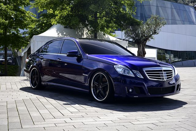 Mercedes-Benz E550 Brabus with Claus Ettensberger Signature Edition rims