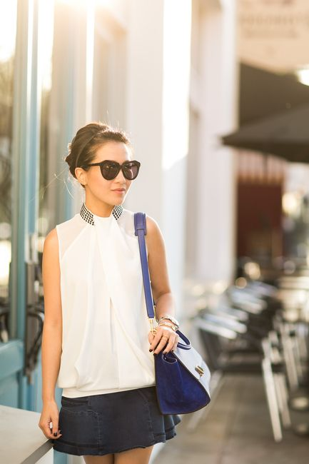 Blue Paradise :: Denim skirt
