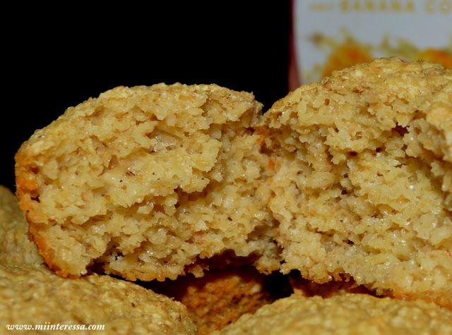 Muffin de Farelo de Aveia , sabor Banana com Canela, Dr. Dukan