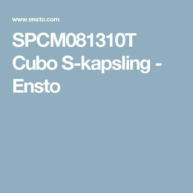 SPCM081310T Cubo S-kapsling - Ensto