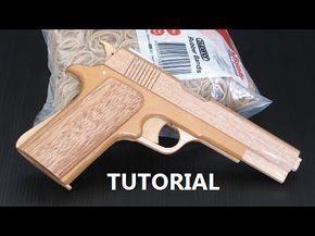Tutorial - blowback rubber band gun - YouTube