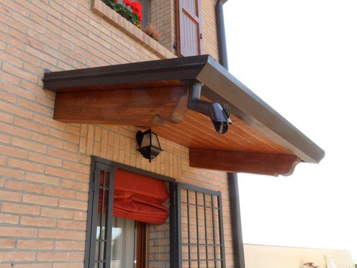 56 migliori immagini pensiline su pinterest baldacchini ingresso di casa e porte d 39 ingresso - Pensiline ingresso casa ...