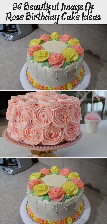 26+ Beautiful Image Of Rose Birthday Cake Ideas Cake