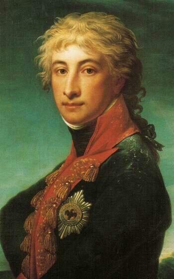 Prinz Louis Ferdinand (1772-1806l. Louis Ferdinand gehörte 1805 zum Kreis der Personen um Königin Luise, den Freiherrn vom Stein und General Ernst von Rüchel, der dafür stand, Napoleon entgegenzutreten. Gemeinsam versuchten sie, den König davon zu überzeugen