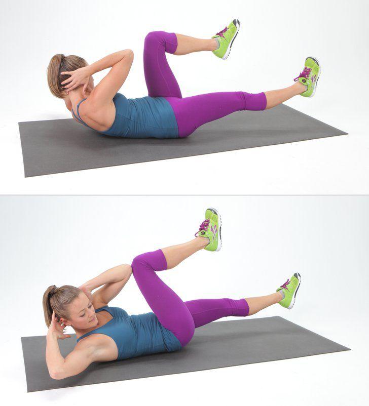 Легкие упражнение для похудение фото