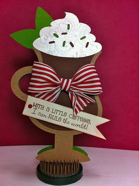 www.cricutholiday...: Coffee Lovers, Coff Cards, Latte Cards, Cards Ideas, Gifts Cards, Cute Pet, Coffee Cards, Cricut Projects, Coffeecocoa Cards