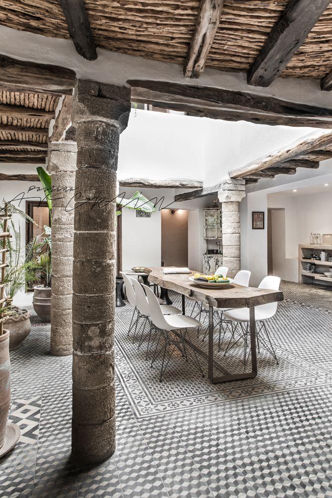 Perfecto para el espacio abierto de la casa de PT. Un bello riad en Marruecos | Bohemian and Chic
