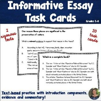 The  Best Informative Essay Ideas On   Informational