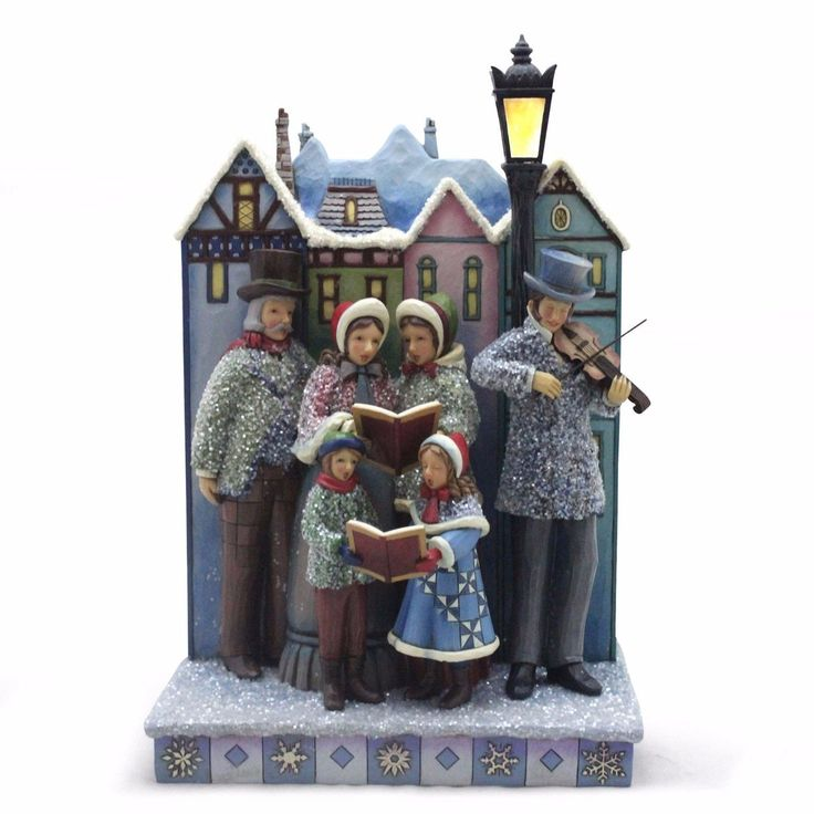 Victorian Christmas Carolers Figurines: 17 Best Images About JIM SHORE...CHRISTMAS COLLECTION On