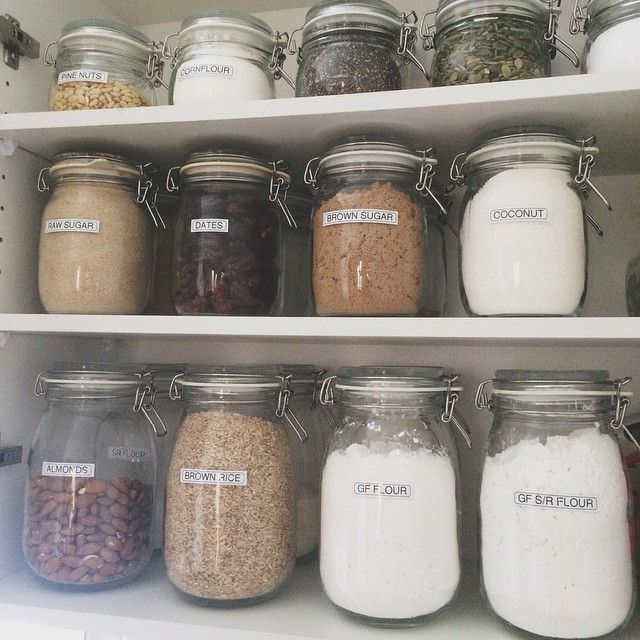 For the pantry organization nerds! I LOVE my @ikea_australia Korken jars - $1.99 for the widdles, $2.99 for the mids, and $3.99 for the big kahunas. So affordable!