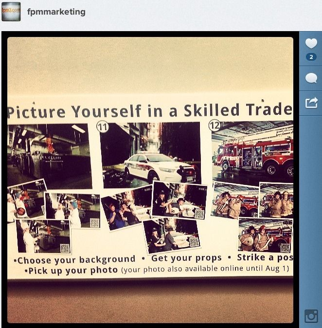 Picture Yourself in a Skilled Trade event for Colleges Ontario.