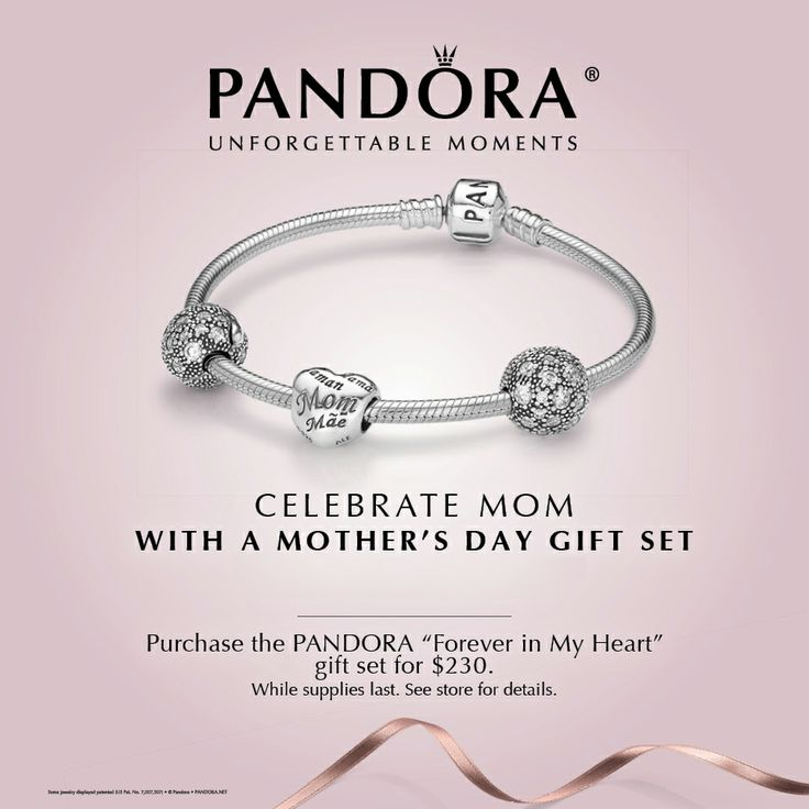 Celebrate mom with the #Pandora Mother's Day collection 2014