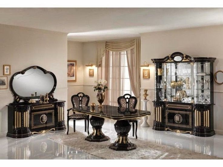 Home Genies And Garden Products Italian High Gloss Dining Sets
