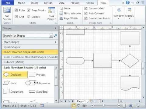 ▶ Microsoft Visio Tutorial - Video 1 of 3 Introduction - YouTube