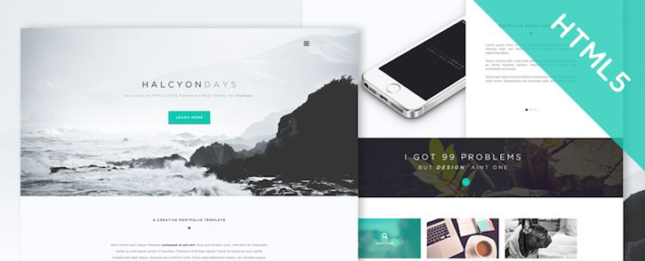 25  Latest Free HTML5 Website Templates