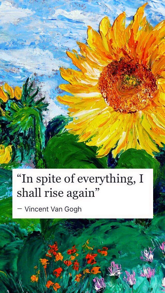 Van Gogh Lockscreen Tumblr Van Gogh Quotes Van Gogh