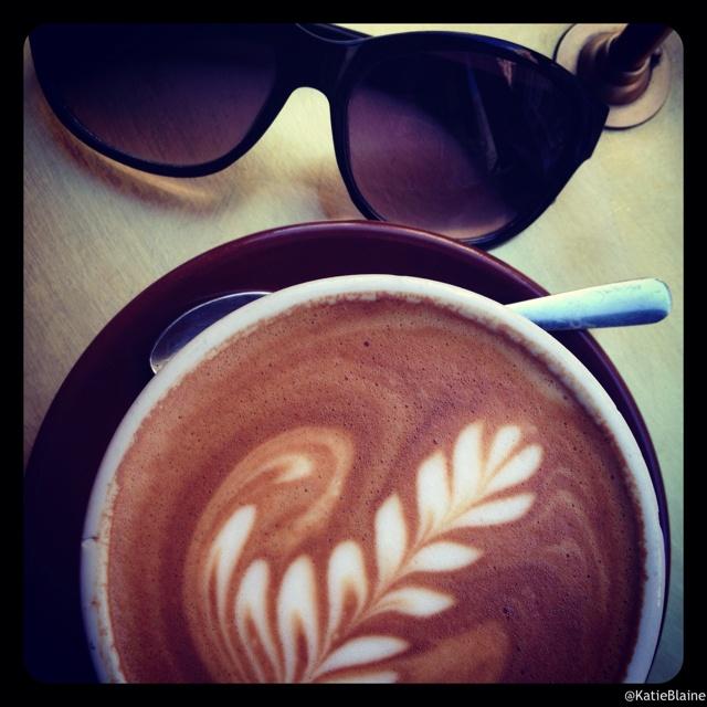 Another delicious Stumptown Latte