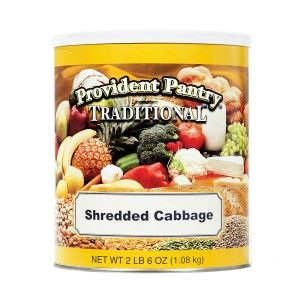 "Nutrition: Shredded cabbage may not seem like an important ""on hand"" item, but the nutritional content is very high and calories/carbs very low.  Great addition."