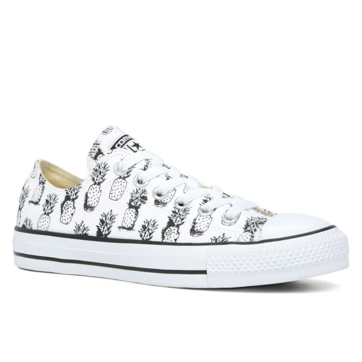Converse Chuck Taylor All Star Pineapple Print Low Top.