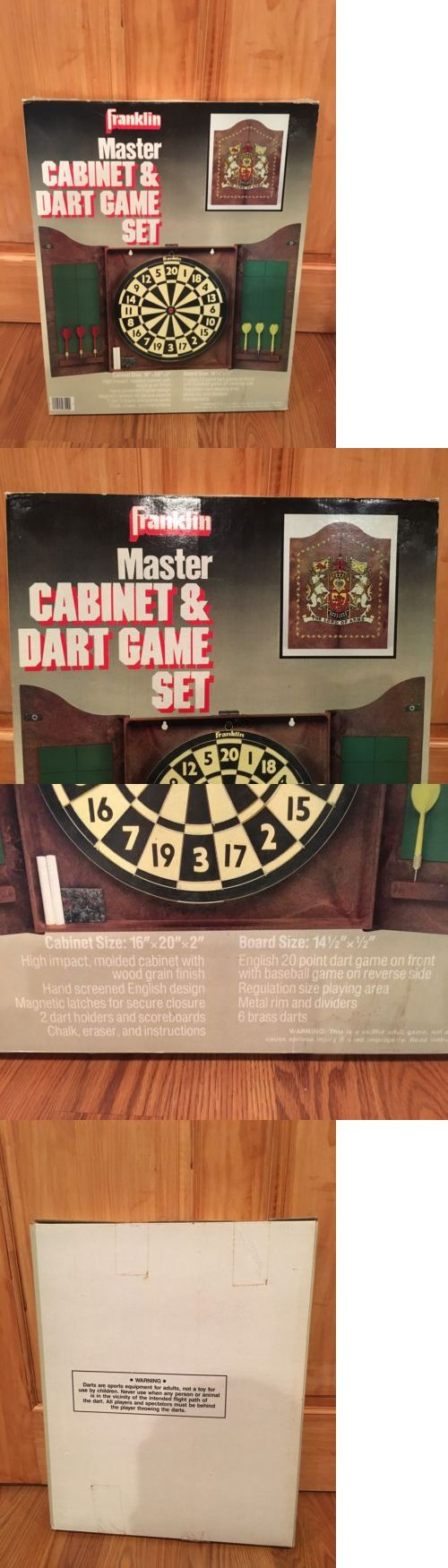 Poster Cabinet Sloanled Stripe Wire Diagram Franklin Master Dart Game Set Brand New And Factory Sealed