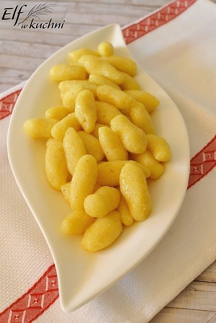 Kluski kukurydziane [bezglutenowe]
