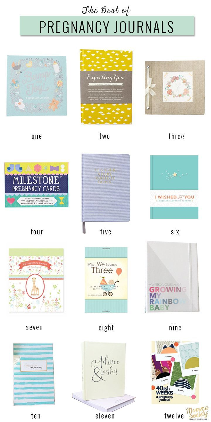Baby journal scrapbook ideas - 12 Amazing Pregnancy Journals You Will Want To Check Out